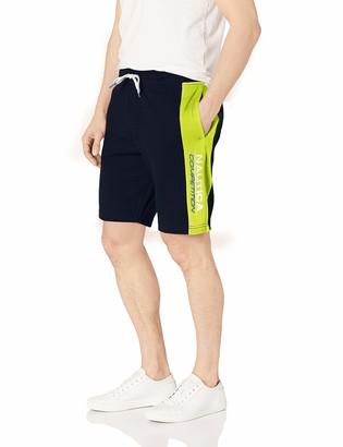 Nautica Men's Side Stripe Competition Fleece Short