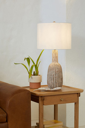 Anthropologie Nova Table Lamp By in Grey Size M