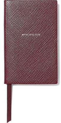 Smythson Wafer #nofilter Textured-leather Notebook