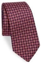 Kiton Mini Deco Circle Silk Tie