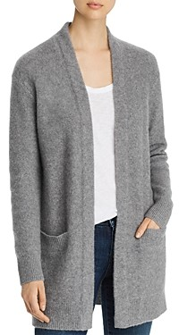 Bloomingdale's C by Open-Front Brushed Cashmere Cardigan - 100% Exclusive