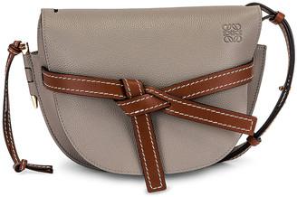 Loewe Gate Small Bag in Smoke & Pecan | FWRD