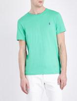 Polo Ralph Lauren Crewneck cotton-jersey t-shirt