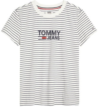 Tommy Jeans Stripe Graphic T Shirt