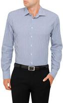 Calvin Klein Crisp Stripe Slim Fit Shirt