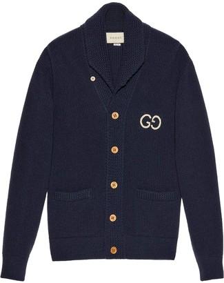 Gucci GG rib knit cardigan