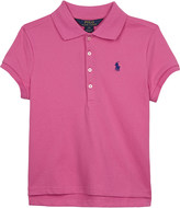 Ralph Lauren Pleated back cotton polo shirt 6-14 years