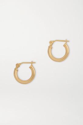 Loren Stewart Net Sustain Gold Hoop Earrings