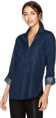 NYDJ Women's Chambray Denim Shirt