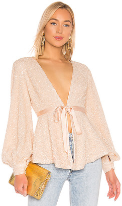 Michael Costello X REVOLVE Stella Blouse