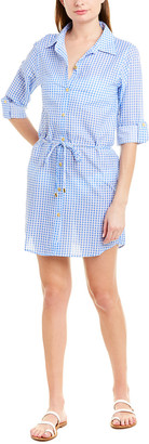 Helen Jon Tie-Waist Shirtdress
