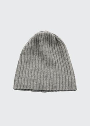 Portolano 4-Ply Cashmere Slouch Beanie Hat