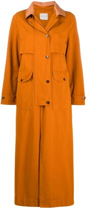 Forte Forte Single-Breasted Trench Coat