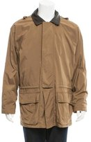 Loro Piana Leather-Trimmed Horsey Jacket