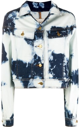 Roberto Cavalli Acid-Wash Jacket
