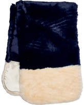San Diego Hat Company Faux Fur Color Block Scarf BSS3534 (Women's)