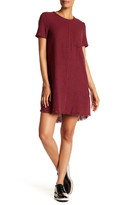 Current/Elliott The Frayed Edge Shift Dress