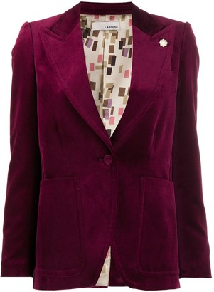 Lardini Fitted Buttoned Jacket