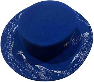 Ruslan Baginskiy Blue Wool Hats