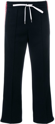 Miu Miu Cropped Track Trousers