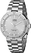 Oris Men's 73376764141MB Aquis Analog Display Swiss Automatic Watch