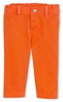 Petit Bateau Baby boy plain gabardine pants