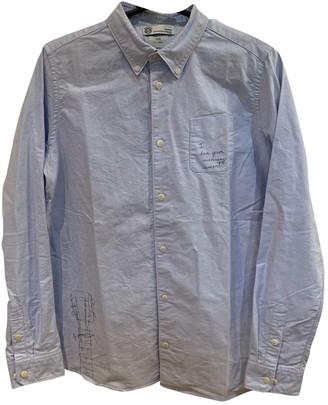Visvim Blue Cotton Top for Women