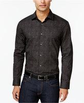 Alfani Men's Big and Tall Printed Shirt, Only at Macy's
