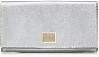 Jimmy Choo Metallic Leather Martina Wallet