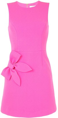 Rebecca Vallance Barbie bow-detail sleeveless mini dress