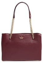 Kate Spade 'Emerson Place - Small Phoebe' Leather Shoulder Bag - Brown