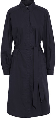 Rodebjer Agata Belted Cotton-poplin Shirt Dress