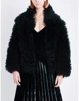 Dion Lee Oversized shearling jacket