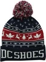 DC Men's Xmas Puff Hat