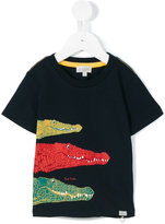 Paul Smith crocodile print T-shirt - kids - Cotton - 24 mth