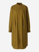 Thumbnail for your product : Proenza Schouler White Label Poplin Tied Shirt Dress