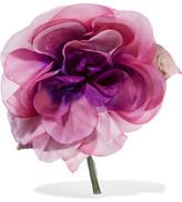 Gucci Floral Silk Brooch - Pink