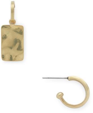 Soko Ripple Charm Jacket Hoop Earrings