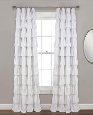 "Lush Decor Ruffle Window Curtain Panel, 50""x95"""
