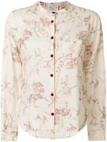 Forte Forte leaf patterned blouse