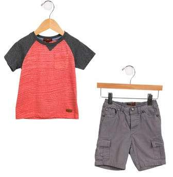 7 For All Mankind Boys' Casual Two-Tone Set