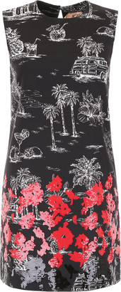N°21 N.21 Printed Dress With Sequins