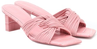 Mercedes Castillo Calisse leather sandals