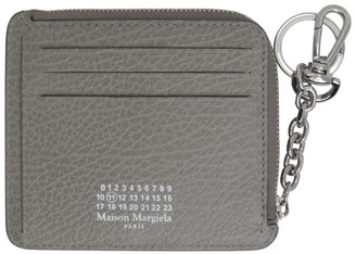 Maison Margiela Grey Keychain Card Holder