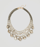 LOFT Frost Statement Necklace