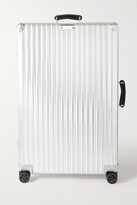 Thumbnail for your product : Rimowa Classic Check-in Large 79cm Aluminum Suitcase - Silver