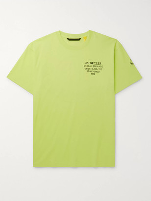MONCLER GENIUS + Undefeated 2 Moncler 1952 Logo-Print Cotton-Jersey T-Shirt