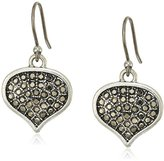Lucky Brand Pave Spade Drop Earrings