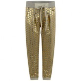 Relish RelishGirls Grey & Gold Spotted Sweatpants