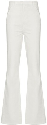 J Brand High-Waisted Flared Jeans